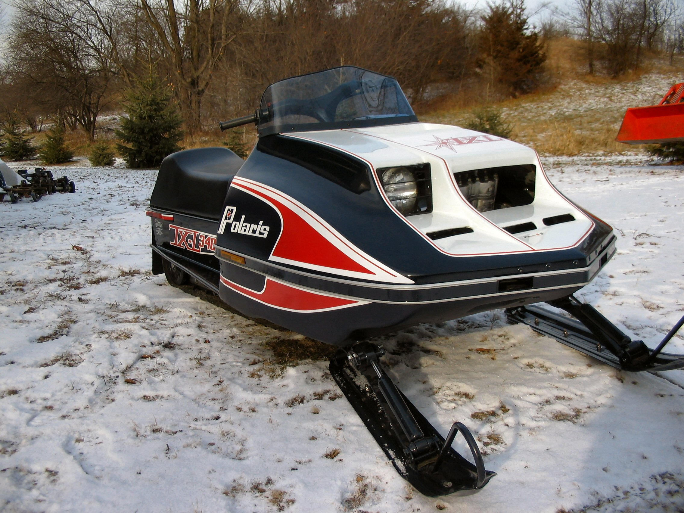 1978 Polaris TXL – Multiple Year Winner Of Vintage Snowmobile Competition
