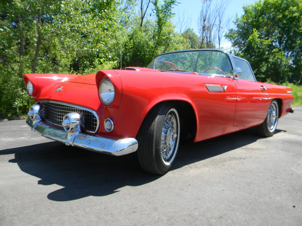 Repaired Classic Red Thunderbird by Bodywerks