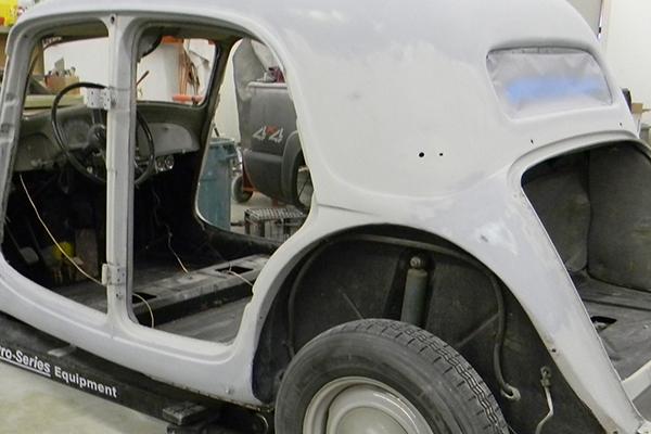 Bodywerks 53 Citroen Paint Restoration Before