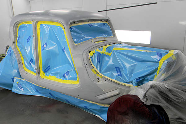 Bodywerks 53 Citroen Paint Restoration Prep