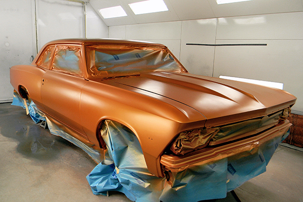 Bodywerks 66 Chevelle Paint Restoration