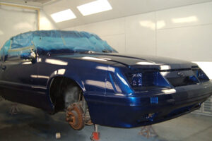 Bodywerks 91 Mustang Paint Restoration After