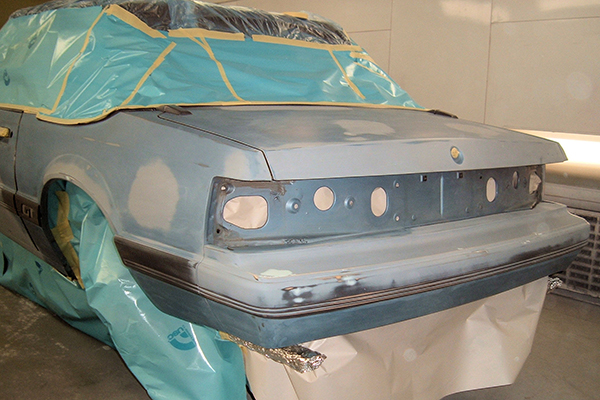 Bodywerks 91 Mustang Paint Restoration Before
