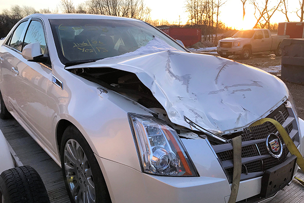 Bodywerks Cadillac CTS Auto Body Repair After