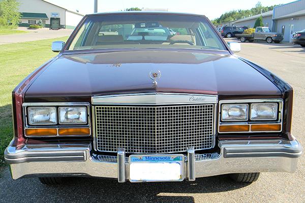 Bodywerks Paint Restoration Cadillac Before