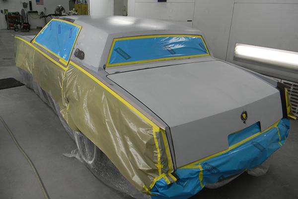 Bodywerks Paint Restoration Cadillac In Progress