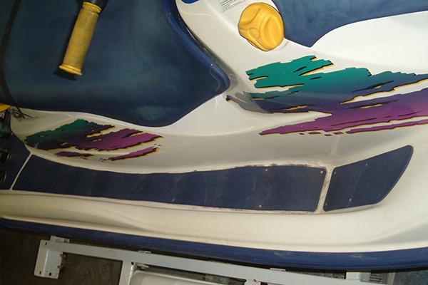 Bodywerks Sea Doo Paint Restoration Before