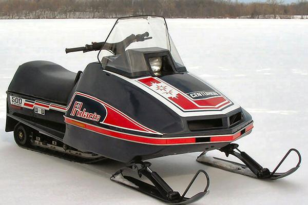 Bodywerks Vintage Snowmobile Restoration Polaris Centurion